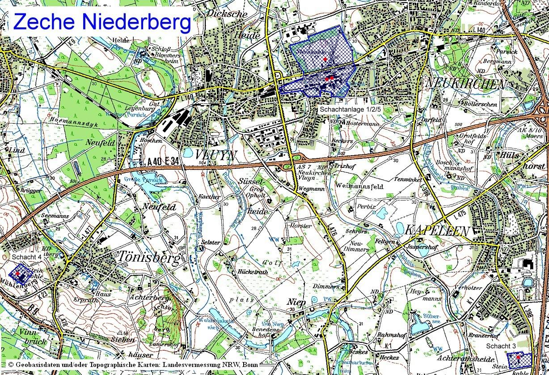 Niederberg Neukirchen Vluyn niederberg